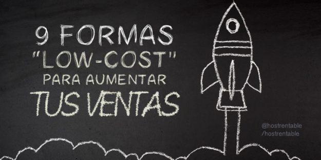 "9 Estrategias ""low-cost"" para aumentar tus ventas"