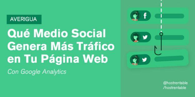 Averigua qué Medio Social Genera más Tráfico en Tu Sitio Web con Google Analytics